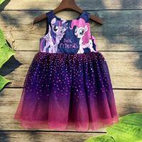 Váy HM Pony tím