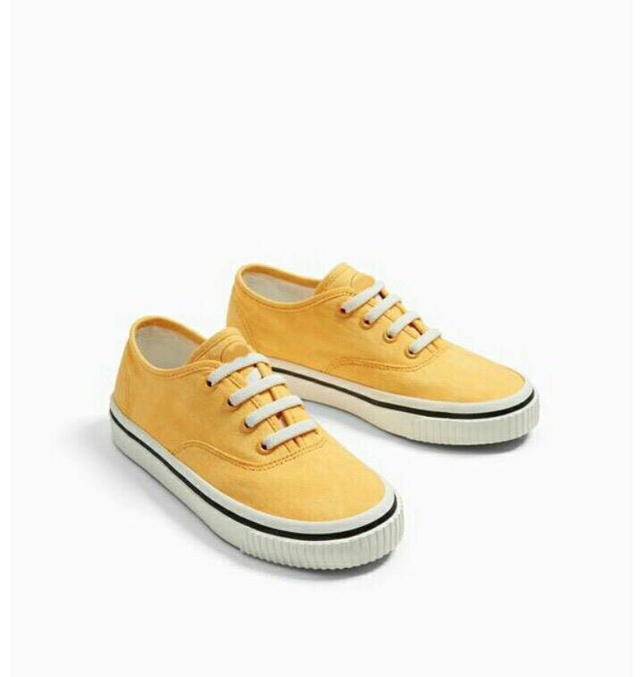 Sneaker Z.a.R.a Vải Vàng