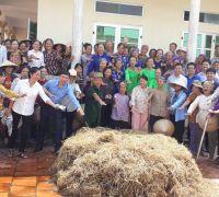 Đào tạo tập huấn ủ phân tại Sóc Sơn do Trung Ưng Đoàn tổ chức