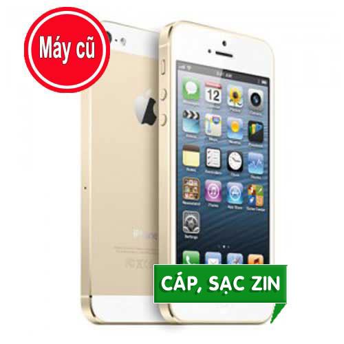 IPHONE 5S 16GB MÀU VÀNG GOLD QUỐC TẾ (MÁY CŨ 99% Zin Nguyên Bản)