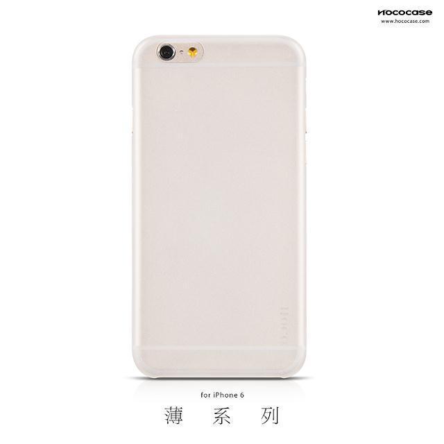 Case Nhám HOCO for iPhone 6/6S (Trong suốt và Màu)