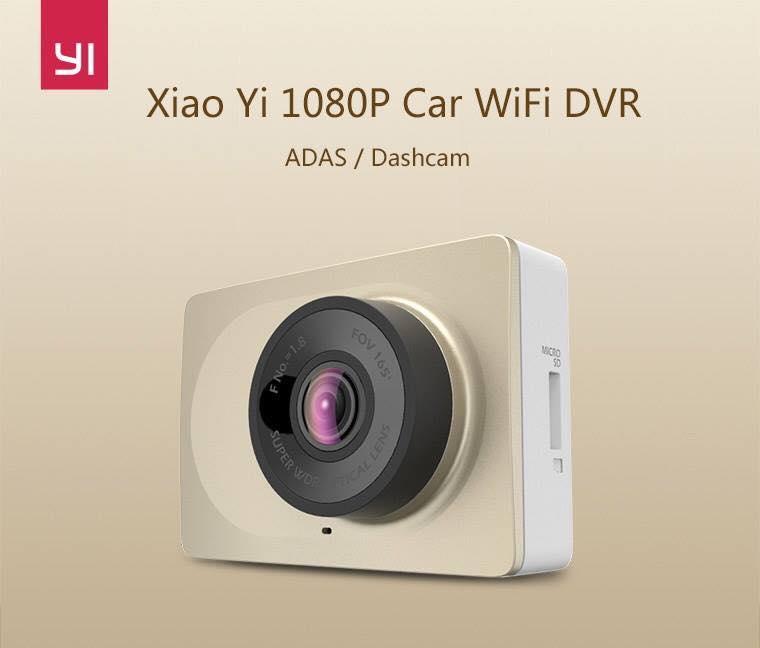 Camera hành trình trên xe hơi Xiaomi Yi Car DVR (Phiên bản 165 độ rộng nhất)
