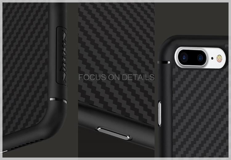 Ốp Lưng Iphone 7 - 7 Plus Nillkin Synthetic Fiber