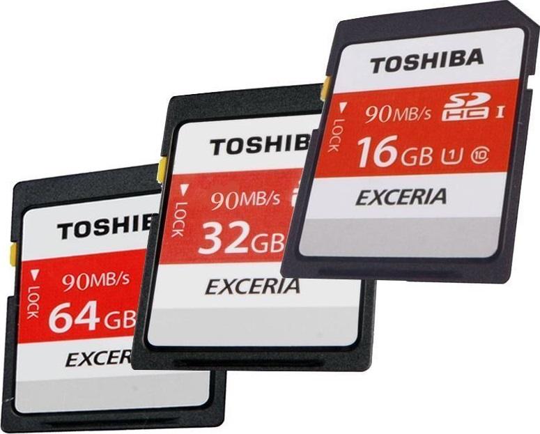 SDHC 128GB Toshiba Class 10 90MB/s