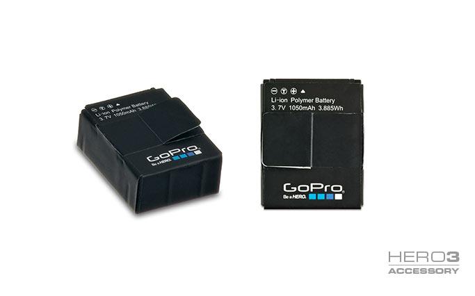 Rechargeable Battery- Pin Hero 3/3+ (hàng chính hãng)