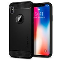 Ốp lưng iPhone X Spigen Rugged Armor