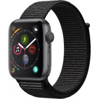 44mm - Gray Aluminum Black Sport Loop (GPS)- MU6E2