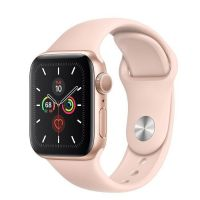 Series 5 (GPS) 40 mm GOLD /  Pink – Band MWV72