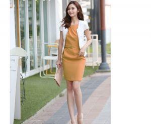 Đầm công sở Emily phong cách Hàn Quốc