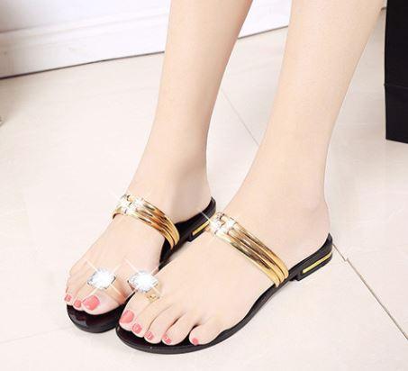 Sandal Gót Đá 5p Cao Cấp