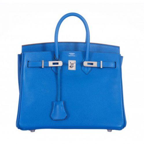 TÚI HERMES BIRKIN BLUE SUPER FAKE T042