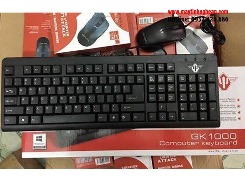 Bàn phím Warship GK1000 dành cho văn phòng
