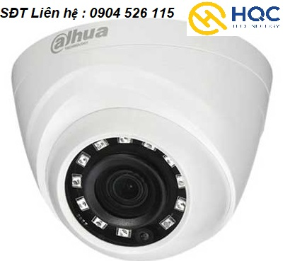 Camera wifi Dahua DH-HAC- HDW1000MP Dome 1M sắt