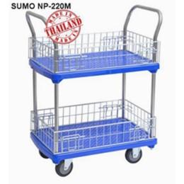 Xe đẩy hàng sàn nhựa SUMO Thái Lan NP-220M