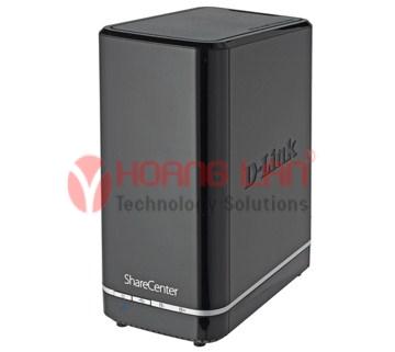 Hộp ổ cứng mạng 2 Bay DNS-320L
