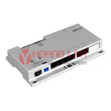 Max kết nối 6 màn hình POE Switch VTNS1060A