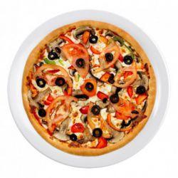 Pizza gà nấm