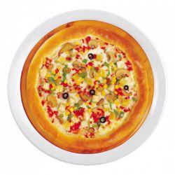 Pizza gà cay