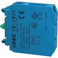Tiếp điểm phụ đôi IDEC 2NO / 1NO-1NC - tiếp điểm phụ kép IDEC