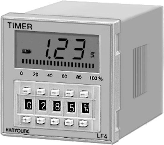 Bộ đếm số LF4 - Bộ Đếm Hanyoung LF4 - Bộ Đếm Counter LF4 Hanyoung Nux