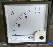 Đồng hồ Ampe 96x96 Ấn Độ  - Crompton Greaves