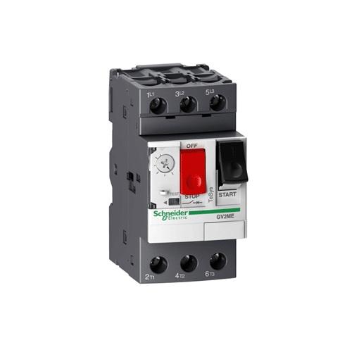 GV2ME22 Rơ le bảo vệ động cơ loại từ nhiệt dòng bảo vệ 327A dải cài đặt 20-25A công suất 11kW SCHNEIDER
