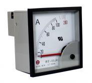 Đồng hồ Ampe 96x96 - Ampe kế 96x96 - Đồng hồ đo Ampe Taiwan Meters BE 96x96