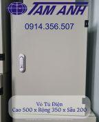 Vỏ Tủ Điện Trong Nhà 350x500x200. Vỏ Tủ Điện 35x50x20.