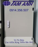 Vỏ Tủ Điện Trong Nhà 300x400x180. Vỏ Tủ Điện 30x40x18.