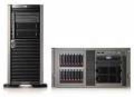 HP ProLiant ML150 G6 Server, Xeon E5504, Ram 2GB, DVD-ROM, Ethernet; fast Ethernet; Gigabit Ethernet