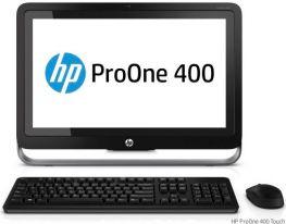 "HP ProOne 400 G1, 19.5"" (1600x900), i5-4570T,HDD 500GB, Ram 4GB, , DVD-RW, Webcam, Windows 7/8."