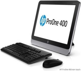 "HP ProOne 400 G1, 19.5"" (1600x900),i3-4330T, HDD 500GB, Ram 4GB, DVD-RW, Webcam, Windows 7/8."
