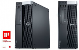 Dell Precision T3600 Workstation; Xeon E5-1620, 8CPU/SSD 120GB/HDD 500GB/RAM 8GB/QUADRO 2000 1GB,