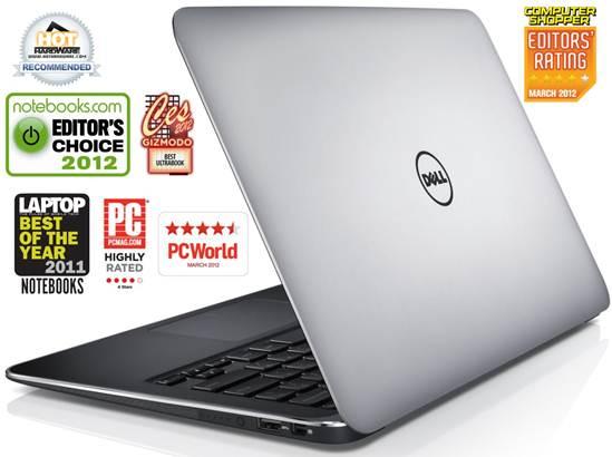 """Dell XPS 13 ULTRABOOK Core™ i7-2637M 1.7GHz, Turbo 2.8Ghz; 256GB; 4GB ; Màn hình 13.3"""" HD, Webcam"""