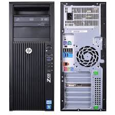 HP Z420 Workstation, Xeon E5-1620 3.6Hz/8 CPU/RAM 08 GB/SSD 120GB/HDD 500GB/ Nvidia NVS300