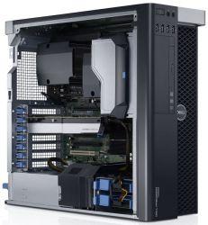 Dell Precision T5610, 2 X Xeon E5-2680V2 2.8GHz/40 CPU/32 GB/SSD 240GB/HDD 1TB/Quadro K4000 3GB