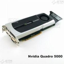 NVIDIA QUADRO 5000 | 2,5GB GDDR5 | 352 Cuda Cores | 320BIT