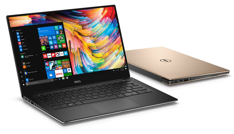 "Dell XPS 13 9360,  13.3 "" QHD+, Touch, Core i7-7500U 2.7GHz/8GB RAM/256GB PCIe SSD"
