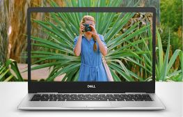 "Dell Inspiron 13 - 7370, 13.3"" FHD,  i5-7200U 2.5 GHz,  RAM 8GB, SSD  M2 180 GB, Like New"