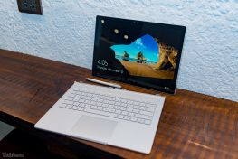 "MS Surface Book 1, M.hình 13.5"" 3K, Touch, Core I5 6300U 2.3 Ghz, RAM 8 GB, SSD 256 GB, GTX 940M 1GB"