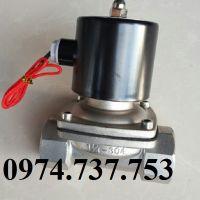 "Van điện từ KLED - 2WB, INOX SUS4/ 316, D21, D 27, D34, D 42, D49, D 60, 2"" inch"