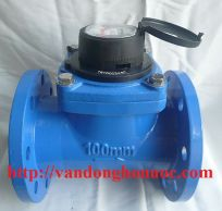 Đồng hồ đo nước mặt bích hiệu UNIK - LXLG - DN50 To DN 200
