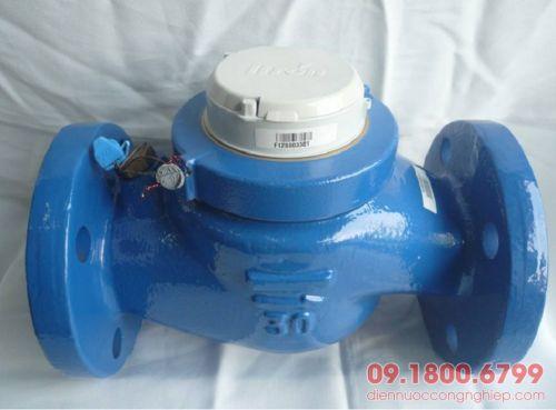 Đồng hồ nước Itron Multimag Cyble gắn dây xung