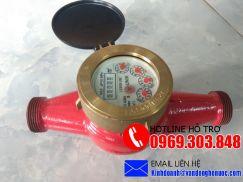Đồng hồ nước Unik nước nóng nối ren chuẩn Đài Loan