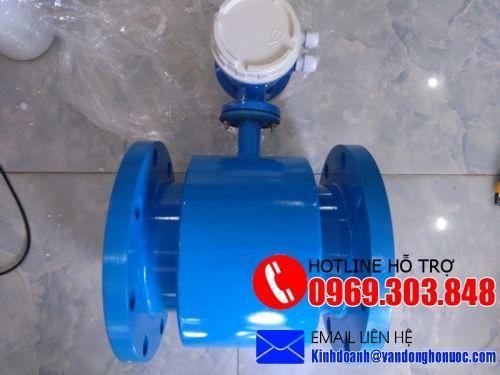 Đồng hồ nước thải kiểu điện tử xuất tín hiệu Xung