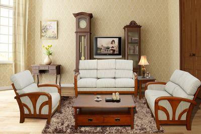 Sức hút tuyệt vời của bộ ghế sofa gỗ phòng khách