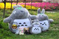 Gấu bông Totoro lông thẳng truyền thống (nhìu size)