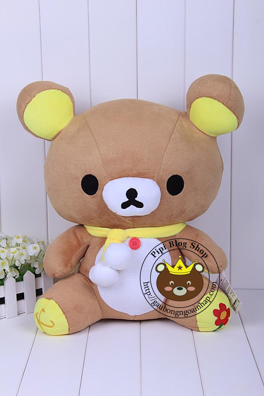 Gấu Rilakkuma ngồi (60cm,70cm, 80cm)