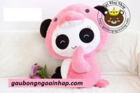 Gấu bông Panda Cánh cụt hồng (90cm)