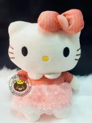 Gấu bông Hello Kitty đầm hồng ren (40cm, 50cm)